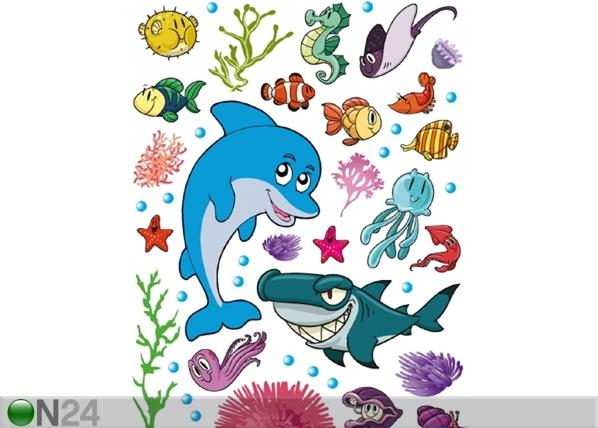 Seinakleebis Dolphin 42,5x65 cm ED-98682