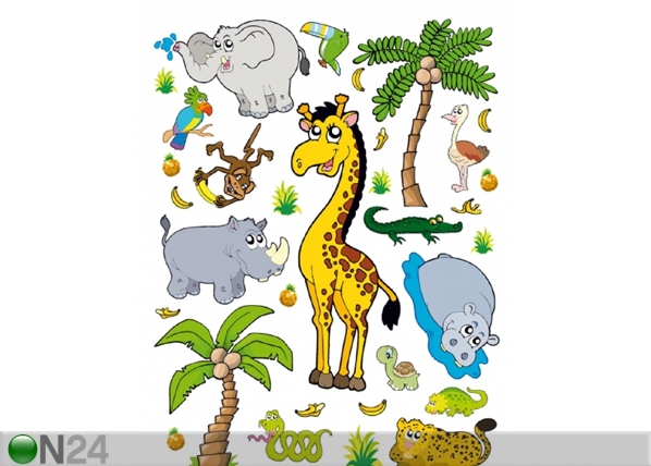 Seinakleebis Jungle 42,5x65 cm ED-98683