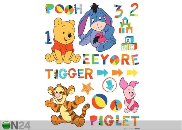Seinakleebis Disney Winnie the Pooh and friends 65x85 cm ED-98725