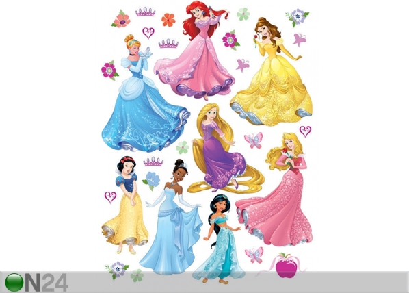 Seinakleebis Disney Princess 65x85 cm ED-98815