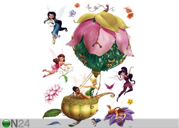 Seinakleebis Disney fairies in a balloon 65x85 cm ED-98832