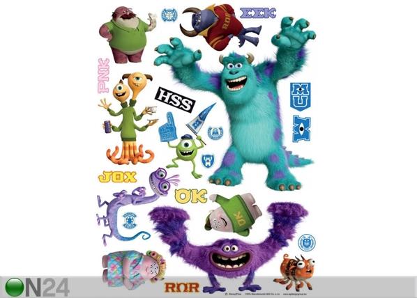 Seinakleebis Disney Monsters 65x85 cm ED-98850