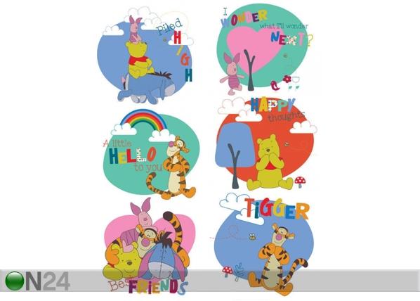 Seinakleebis Disney Winnie the Pooh 3, 65x85 cm ED-98856