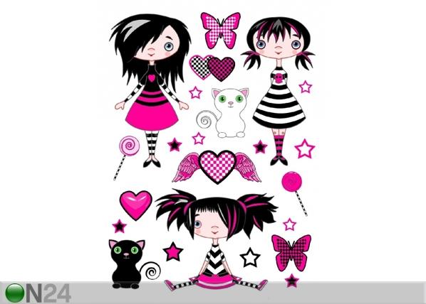 Seinakleebis Girl 65x85 cm ED-98912