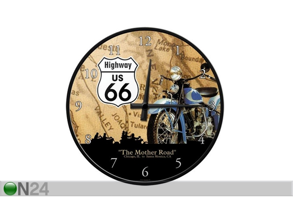 Retro seinakell Route 66 SG-99012