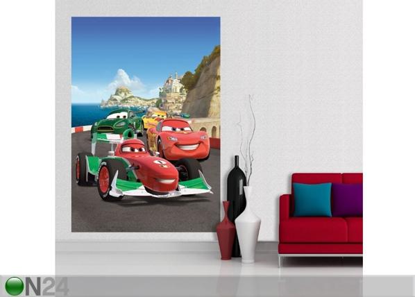 Fliis-fototapeet Disney Cars 2 race 180x202 cm ED-99069