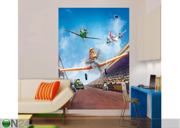 Fliis-fototapeet Disney planes 180x202 cm ED-99073