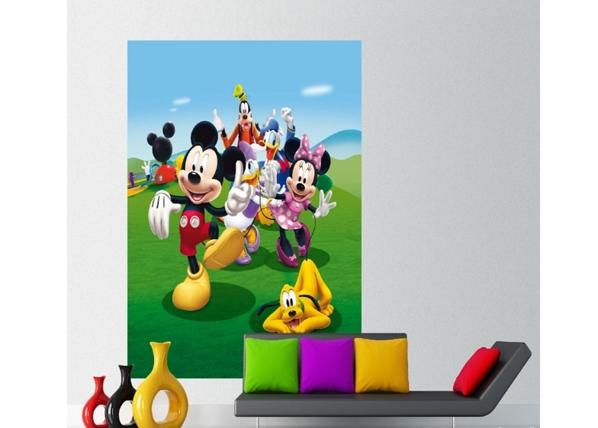 Fliis-fototapeet Disney Mickey and friends 180x202 cm ED-99079