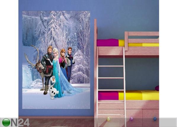 Fliis-fototapeet Disney Ice Kingdom 180x202 cm ED-99092