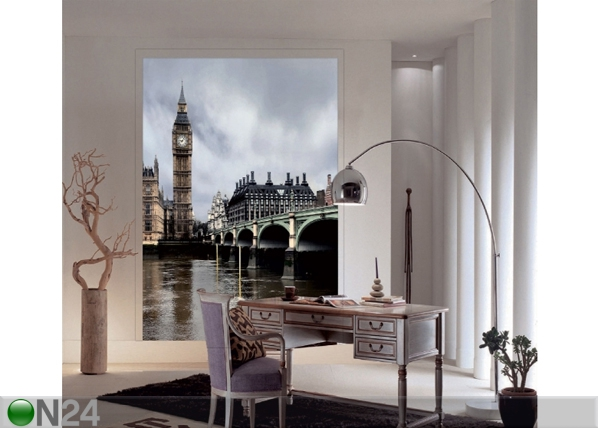 Fliis-fototapeet London Big Ben 180x202 cm ED-99124
