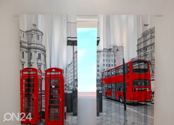 Pimendav kardin London bus 240x220 cm ED-99391