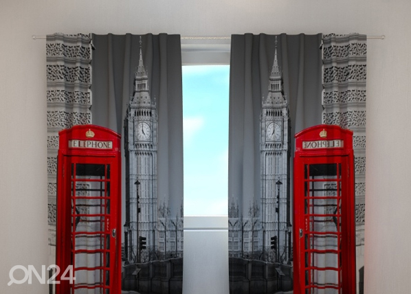 Pimendav kardin London telephone 240x220 cm ED-99397