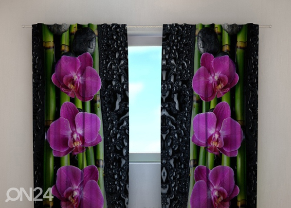 Poolpimendav kardin Luxury orchid 240x220 cm ED-99405