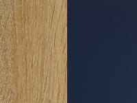 Tamme dekoor/sinine